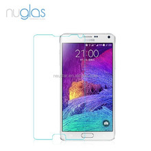 latest mobile phone accessories 2014,Nuglas tempered screen protector for Samsung Galaxy Note 4