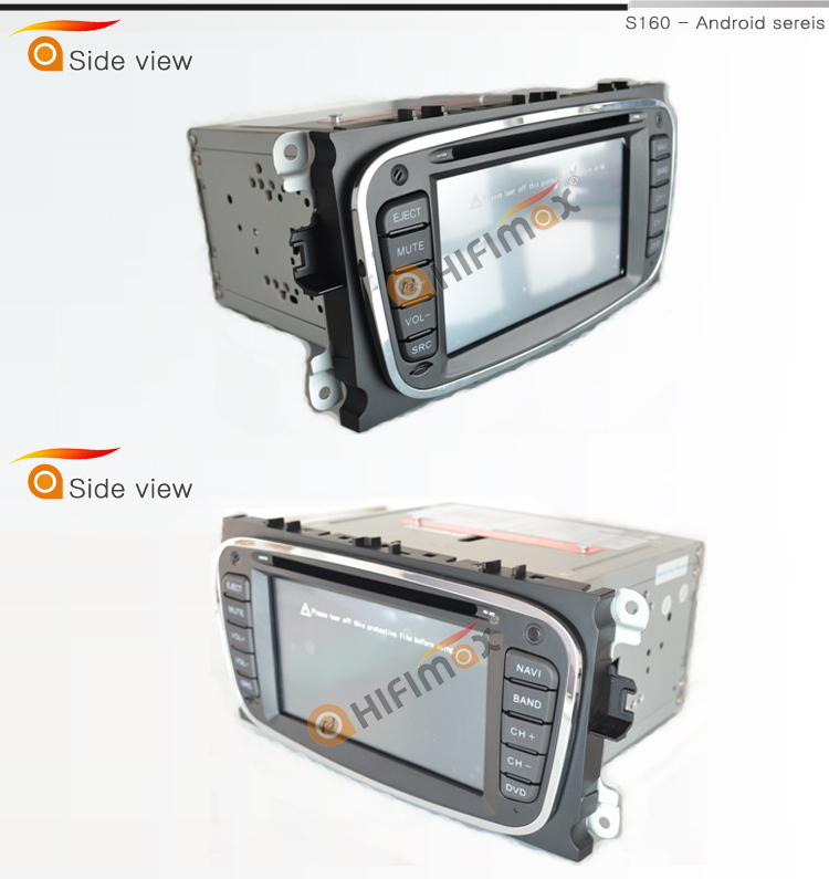 HIFIMAX car audio system for ford mondeo/for Ford Focus/S-MAX android car dvd for FORD Mondeo mk3 mk4
