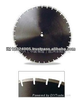 High Quality Diamond Laser Blades for Asphalt
