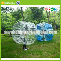 Hot selling cheap bubble soccer ball loopyball/bubble soccer