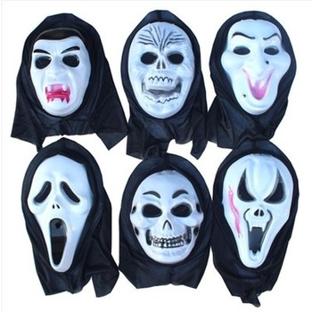 wholesale Carnival Halloween scream ghost mask party cosplay