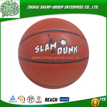 wholesale promotional Customized color genuine leather basketball
