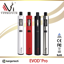 Authentic health e-cigarette Kanger EVOD Pro Starter Kit All in One eVod Pro Kit best selling products 2016
