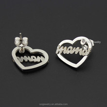 SE0730013 custom high quality fashion color earings cheap fashion jewelry made in china