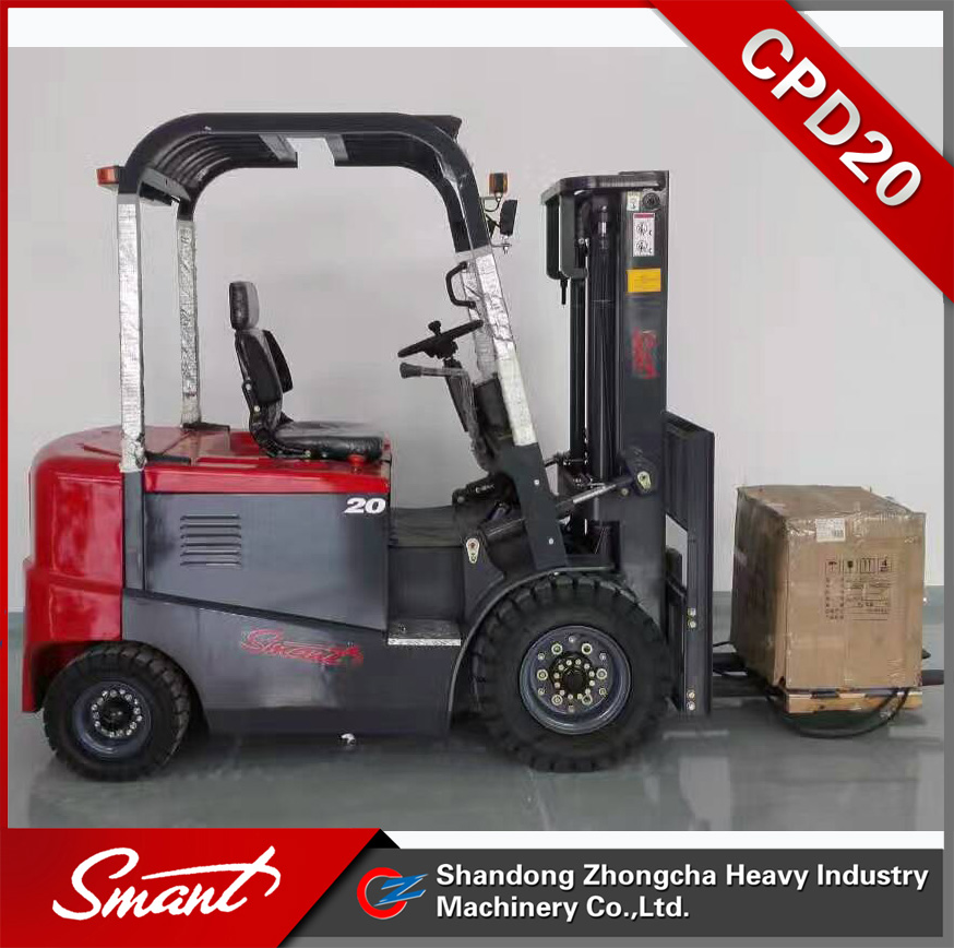 AC Motor Battery Operated forklift, electric lifting truck for sale with competitive price