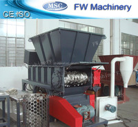 waste/used plastic film/bags shredder/shredding machine