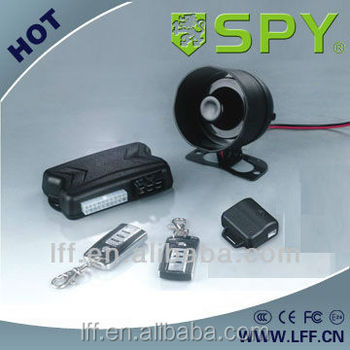 One way car alarm with remote engine start,car security alarm system