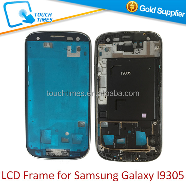 Replacement mobile phone part Front housing frame bezel for Samsung Galaxy S3 I9305
