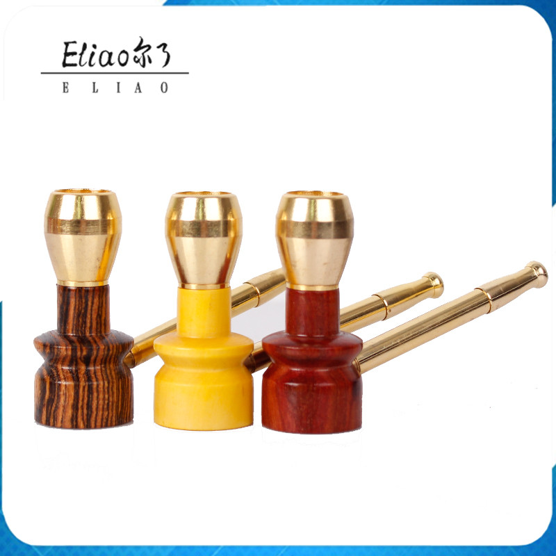 FT Futeng Yiwu Chinese Specialty Dual Use Cycle Filter Smoking Cigarette Holder Pipe Portable Drought Cigarettes Tobacco Pipe