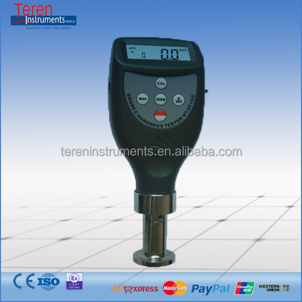 HT-6510O Portable Shore Hardness Tester O Durometer Soft Hard Meter R 1.2 Spherical Radius