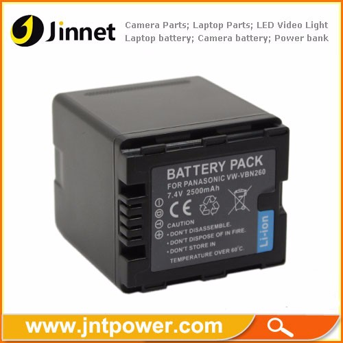 Battery Pack For PANASONI HDC-HS900 TM900 SD900 SD800 SD600 VW-VBN260