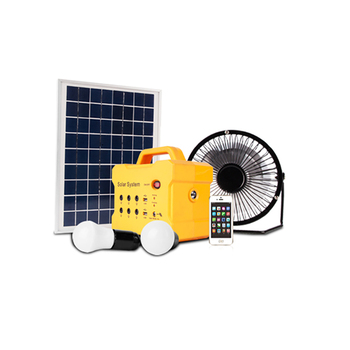 JCN latest design 10w portable solar home lighting system for indoor use