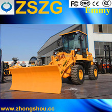 ZSZG Wheel loader ZL-930 with V-type snow blade for sale
