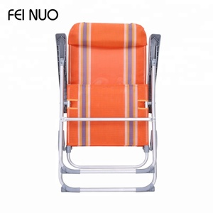 2018 China wholesale lightweight custom folding aluminium beach chair