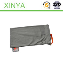 Single rope Custom Microfiber Glasses Bags with Compounded Cloth For Glasses