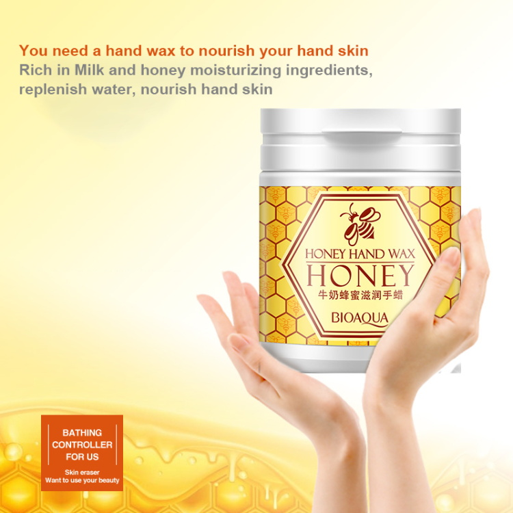 Honey And Milk Extracts Exfoliating Peeling Foot Hand Mask
