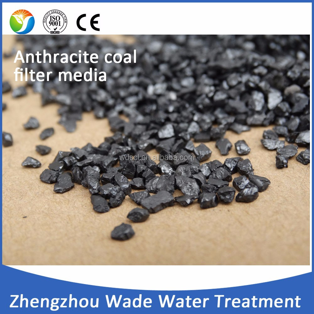 1-2mm 2-4mm anthracite coal filter media /best price of anthracite coal for sale