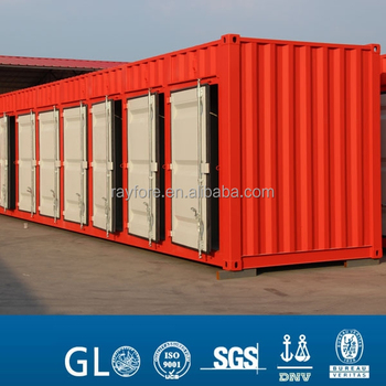 40ft high cube side open locking door Storage Container for sale