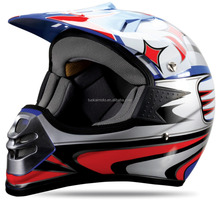 matt graphic half face motorcycle ECE helmet/Cheap motocross helmet for sale (TKH-901)