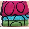 100% Cotton Jacquard Unique Bath Towels