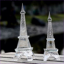 Love Theme elegance Eiffel Tower vip wedding gifts crystal crafts
