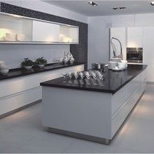 Linkok Furniture modern Italian Design home furniture kitchen use High Gloss Lacquer Kitchen Cabinet