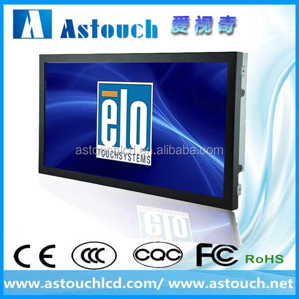 wall mounted 22 inch LCD wifi advertising android touchscreen monitor