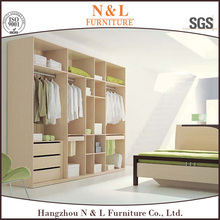 N&L stang ergonomic living room wardrobe cloth furniture for hotel room