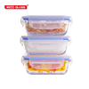 pyrex tableware portable easy carrying BPA free baby food storage with lid