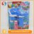 Wholesale led light up dolphin animal plastic soap bubble toys for kids