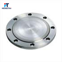 China oil blind blank steel flange with tapped hole