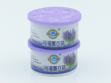 Air freshener with lavender scent,solid gel air freshener can OEM other scents.