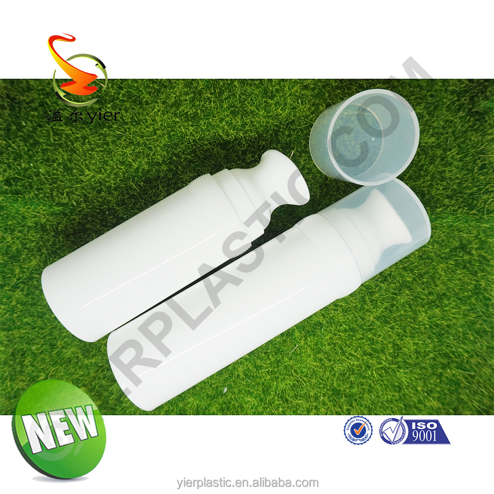 Simple and elegant Personal Care Industrial Use PP Plastic Type 100ml Airless Pump Bottle