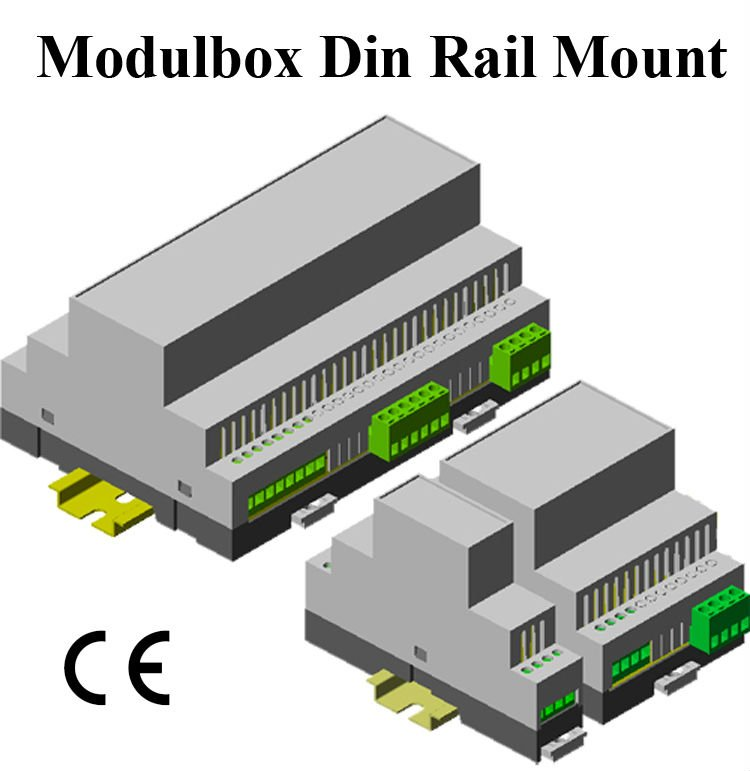 Din Rail Module Enclosure 110*74*22.5,70,157