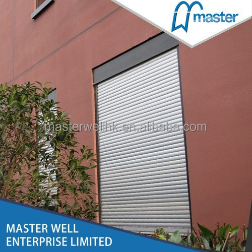 Automatic Aluminum Rolling Shutter Window