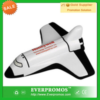 Space Shuttle stress Ball with Logo for promotion and anti stress