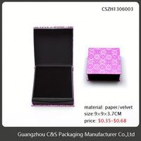 High Quality New Design Oem Low Price Cardboard Gift Boxes Clear Lid