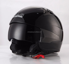 High Quality Glass Helmet Open Face Motorcycle with DOT&ECE Approved XS-XL