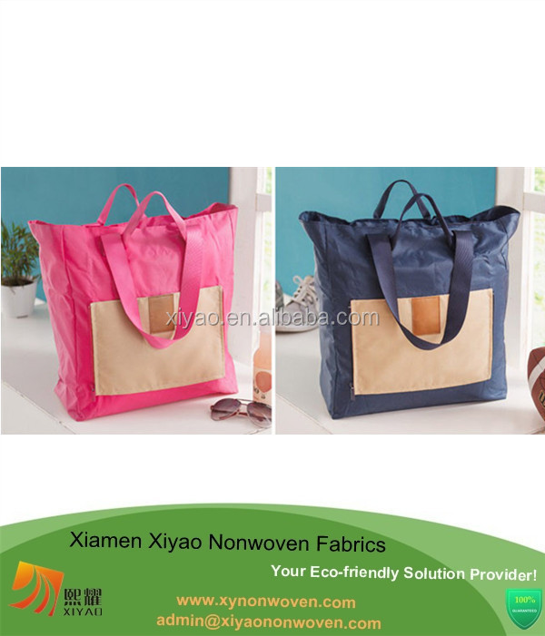 Nylon Natural School Lunch Bag Picnic Women Bags Tote Shopping Bag