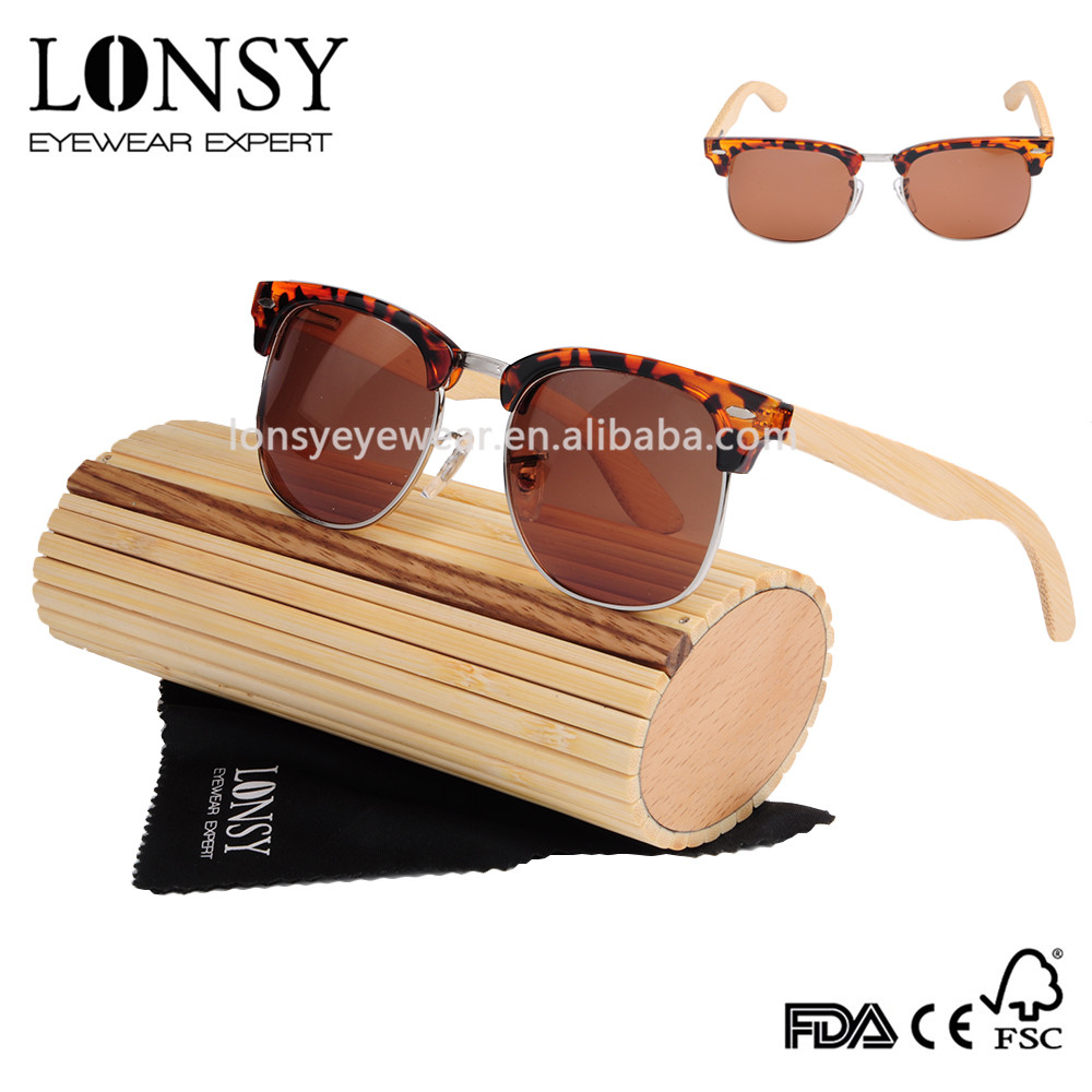 2017 High quality vintage round lens tac polarized sunglasses for European market