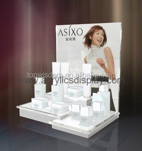 <strong>Acrylic</strong> Counter Cosmetic Displays