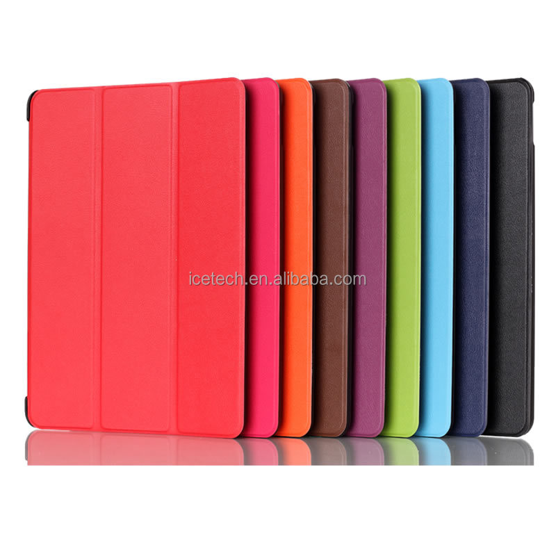 Super Slim Built-in Magnetic Leather Case for Samsung Galaxy Tab A 9.7 inch Tablet SM-T550 smart cover