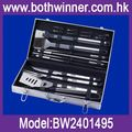 18pcs stainless steel bbq tools ,h0tRS bbq grill accessories tools set with storage case for sale
