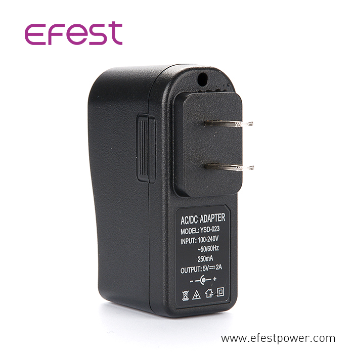 Ce,rohs,fcc passed 5V 2A USB wall fast adapter US plug US adapter for smartphone,MP3,MP4,MP5,bluetooth, usb fan,Travel