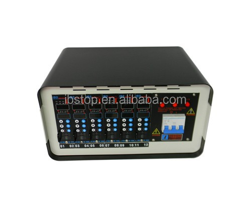 High quality 12 zones hot runner temperature controller with modify soft start time support