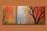 Factory direct high quality low price abstract 100% hand paint decorative oil painting on canvas