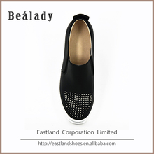 Latest cheap price soft high heel cut simi casual women shoe model price