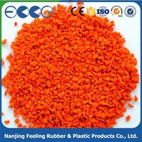 Granulos De 1-3Mm Epdm Rubber Granules For Kindergarten Playground