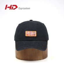 Wholesale water-washed denim dad hat distressed