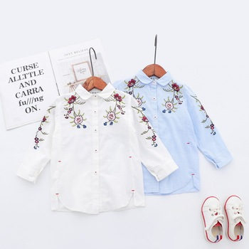 new spring autumn baby girls floral t shirt baby princess ruffles T-shirt baby cotton blouse girl tops